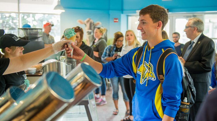 7 unique college amenities - South Dakota State University, dairy bar